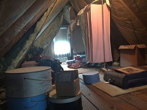 Attic Cleanouts New York City (before)