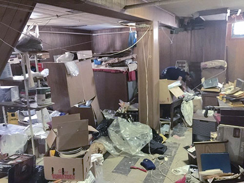 Basement Cleanouts New York City (before)