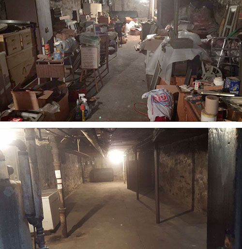 Basement Cleanouts New York City (before & after)