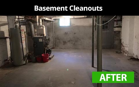 Basement cleanouts services in New York City - after photo