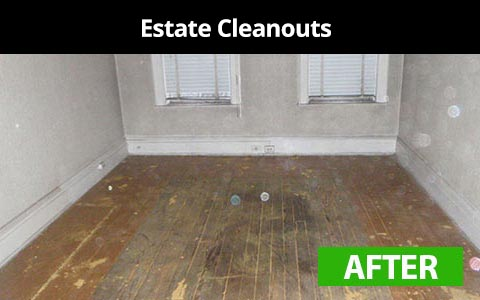 Estate cleanouts services in New York City - after photo