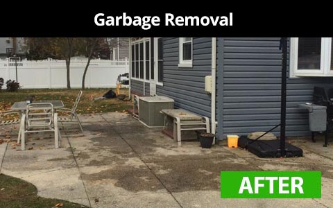 Garbage removal services in New York City - after photo